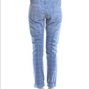 Current/Elliott Jeans The Roller Navy Bandana $228